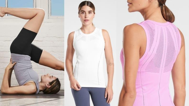 Breathe easily with this best-selling tank that fits like a glove.