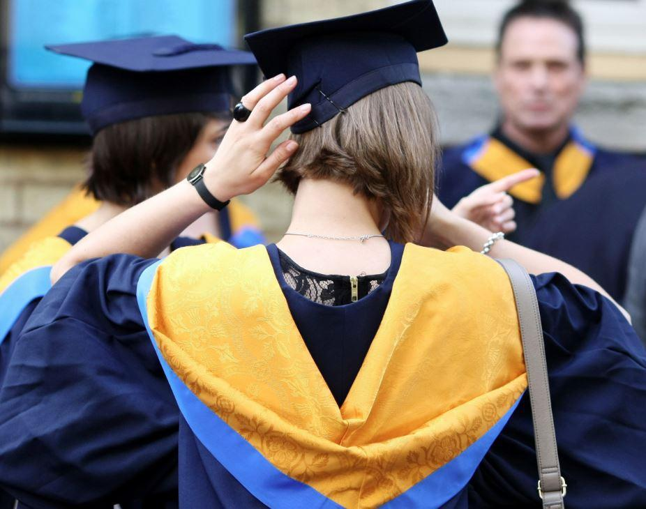 Student numbers have been falling (PA)