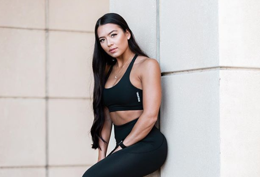 Alyssa Okada left her job at Platinum Fitness after a conversation between her bosses revealed racist remarks about her interracial relationship. (Photo: Instagram)