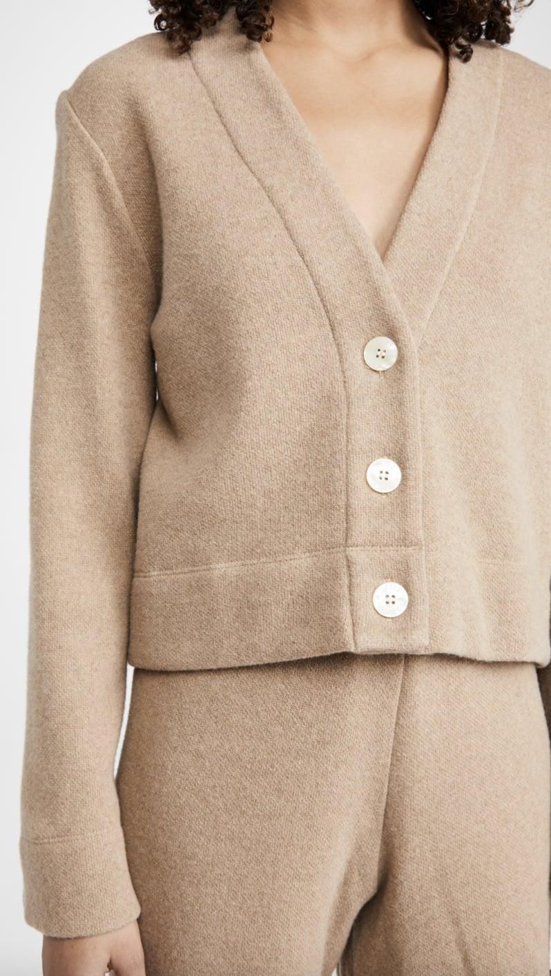 <p>This <span>Leset Sierra Boxy V Cardigan</span> ($225) is an investment piece you'll get a lot of wear out of.</p>