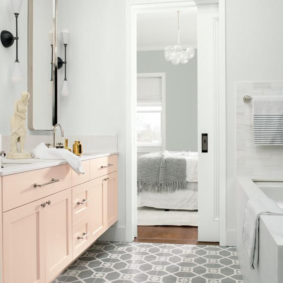 These Are The Most Por Bathroom Paint Colors For 2019