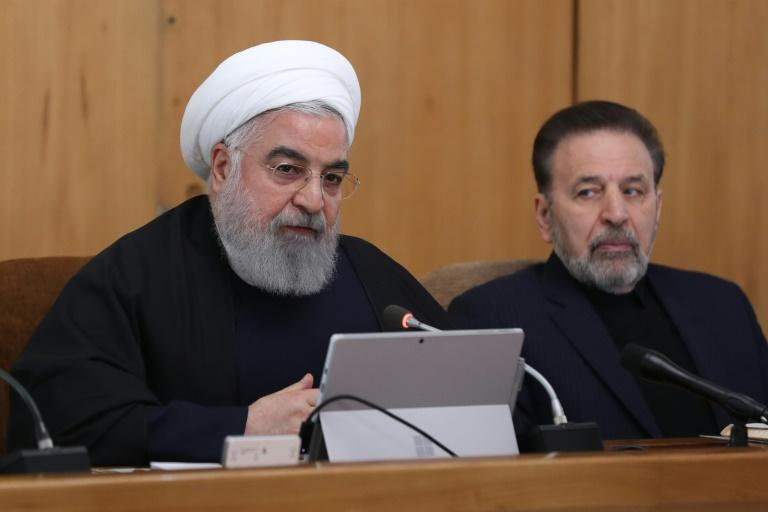 """Iranian President Hassan Rouhani says Tehran won't """"retreat in the face of America"""""""