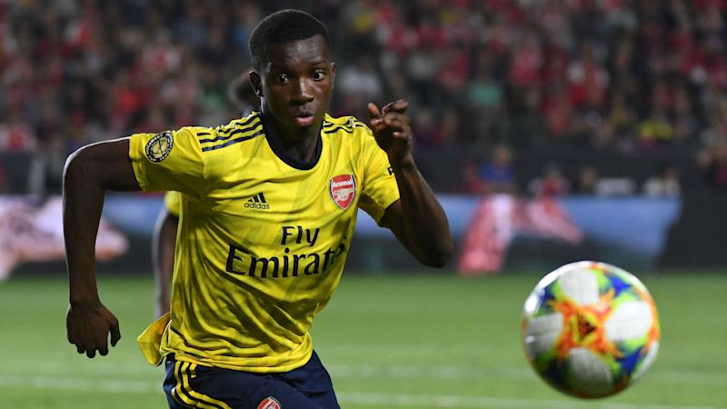 Nketiah not ruling out loan move despite Arsenal trying to close exit door