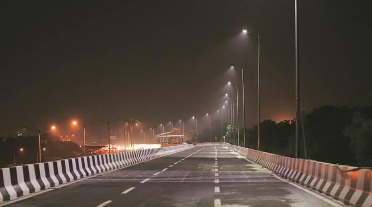 RTR flyover, RTR flyover inauguration, RTR flyover opens today, Rao Tula Ram Marg, Rao Tula Ram Marg flyover, arvind kejriwal, south delhi to igi airport, delhi news