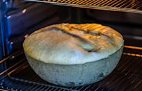 """<p>Baking bread can be a <a href=""""https://www.theactivetimes.com/healthy-living/scary-effects-stress?referrer=yahoo&category=beauty_food&include_utm=1&utm_medium=referral&utm_source=yahoo&utm_campaign=feed"""" rel=""""nofollow noopener"""" target=""""_blank"""" data-ylk=""""slk:great way to relieve stress"""" class=""""link rapid-noclick-resp"""">great way to relieve stress</a>, but you'll want to brush up on the basics first, like how to proof dough — allowing the dough to rest and rise. To do so, turn on the oven for just two minutes and place a bowl of boiling water into the oven with the light on. Once you're done kneading the dough, the oven should be the correct temperature to ensure the dough will be proofed properly.</p>"""