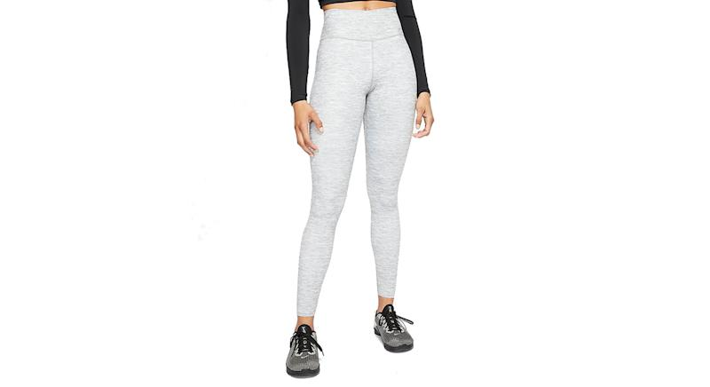 Women's Heathered Mid-Rise Leggings