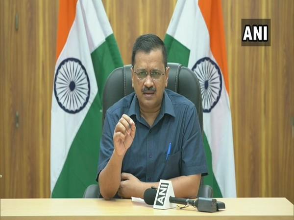 Chief Minister Arvind Kejriwal addressing a press conference in New Delhi on Saturday.