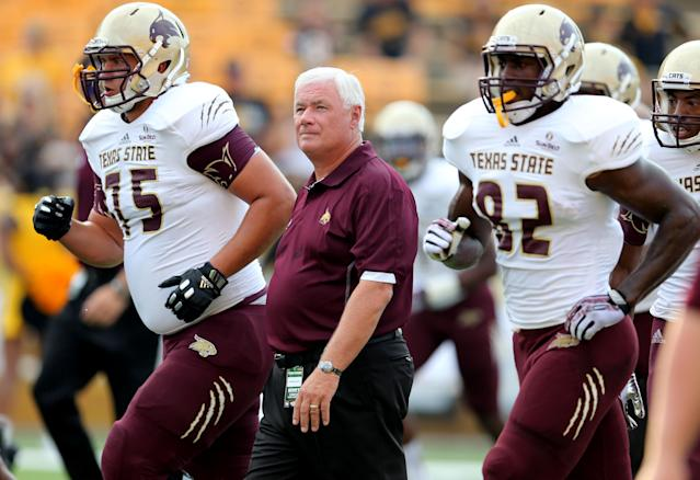 Texas State coach Dennis Franchione knows his story isn't finished yet