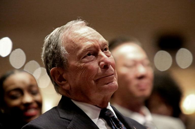 The ex-mayor of New York Michael Bloomberg, pictured on November 17, has registered with the election commission but is yet to confirm whether he is running for president