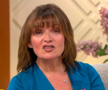 Lorraine Kelly made the Prince Andrew comment right before the show endedITV