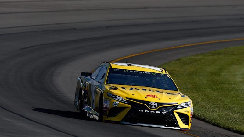 Kyle Busch owns up to wrecking Martin Truex Jr