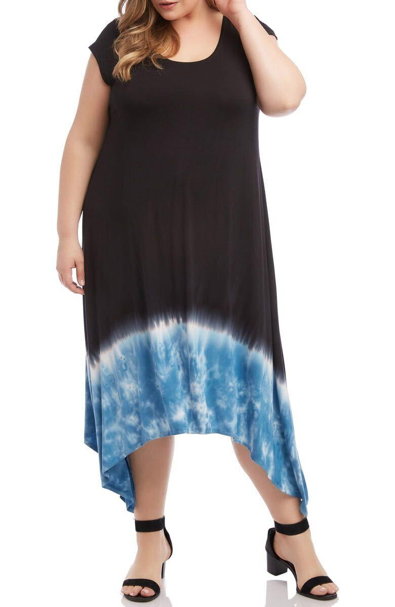 "<strong><a href=""https://shop.nordstrom.com/s/karen-kane-handkerchief-hem-midi-dress-plus-size/5251939"" target=""_blank"" rel=""noopener noreferrer"">Get the Karen Kane handkerchief hem midi dress for $138.</a></strong>"