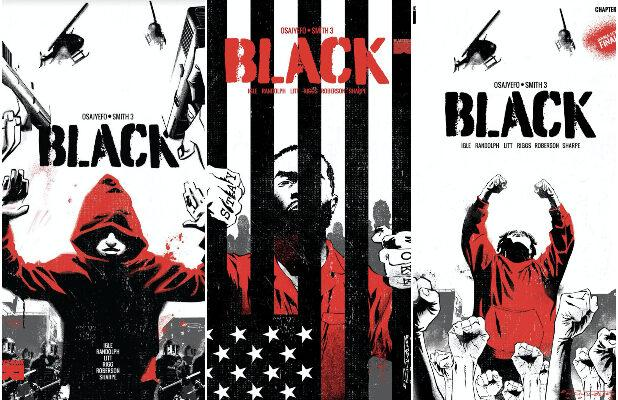 'Black' Comic Where Only Black People Have Superpowers Gets Film Adaptation at Warner Bros