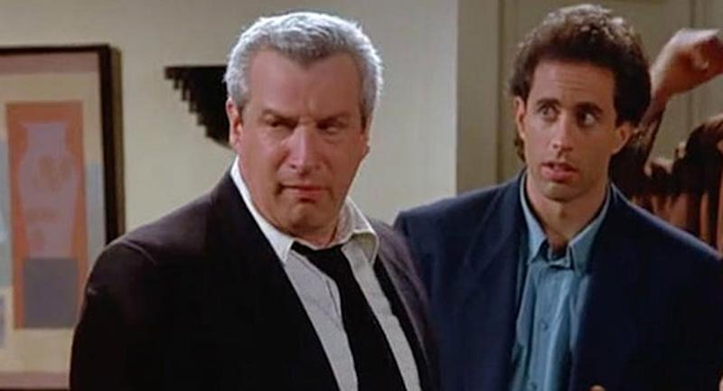 Actor Charles Levin is pictured with Jerry Seinfeld during a 1993 episode of Seinfeld.