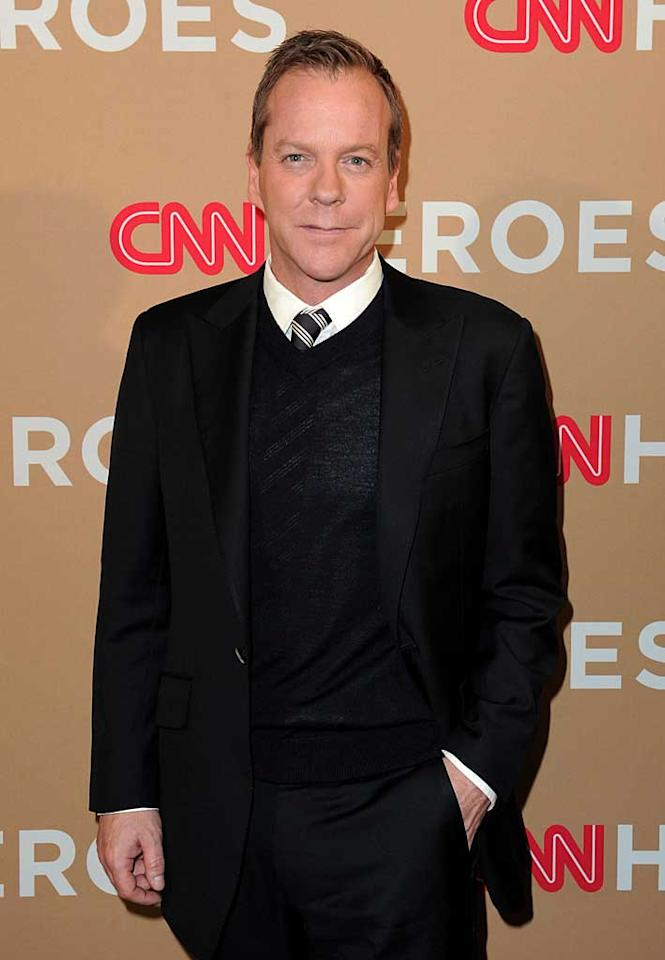 "December 21: Kiefer Sutherland turns 44 Jordan Strauss/<a href=""http://www.wireimage.com"" target=""new"">WireImage.com</a> - November 20, 2010"