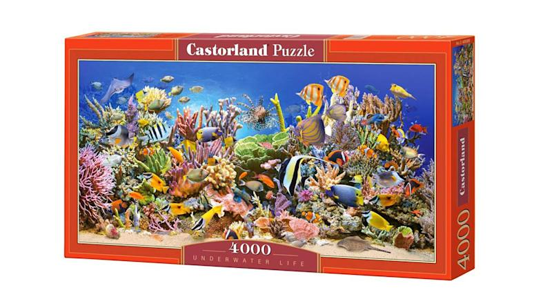 Hobby Panoramic Underwater Life Jigsaw Puzzle, 4000 Pieces Set