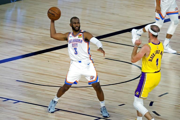 NBA Lakers thumped by Thunder, Raptors and Celtics win