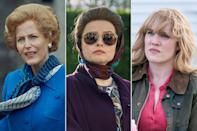 <p>are three other actresses from <em>The Crown </em>who've found themselves nominated in the same category. They're up for outstanding supporting actress in a drama series. </p>