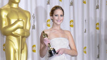 <p>J-Law tops the list for the second year running after taking a profit share from the final 'Hunger Games' film. She's also a ruthless negotiator often taking more - and rightfully so - than her male co-stars. </p>