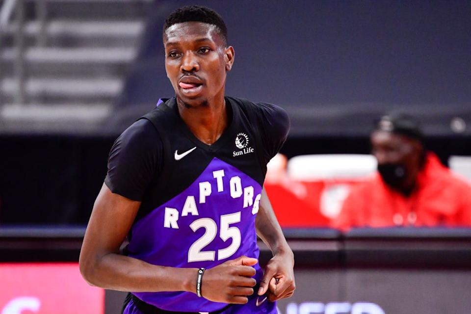 With starting spots up for grabs, a battle at the bottom of the roster and a lot of turnover this offseason, we have intrigue galore at Raptors camp. (Getty)