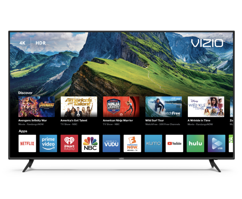 "VIZIO 65"" Class 4K Ultra HD (2160P) HDR Smart LED TV. (Photo: Walmart)"