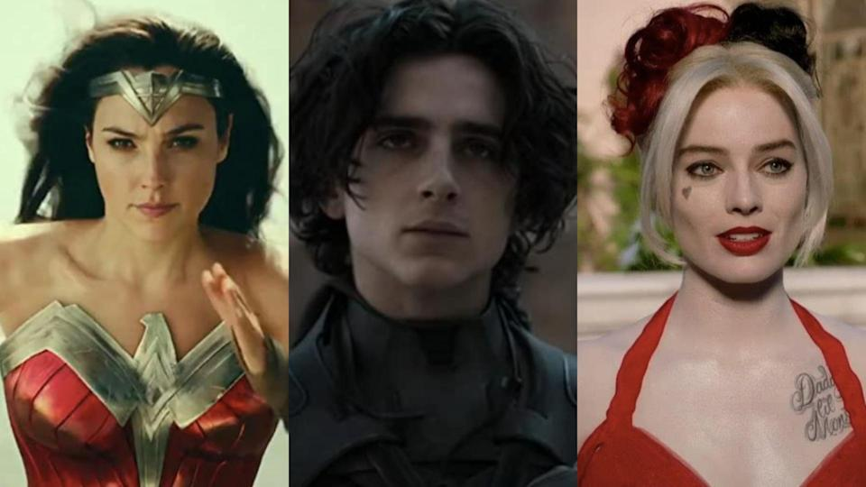 Wonder Woman 1984, Dune, The Suicide Squad
