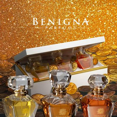 Exquisite Fragrance Collection by Benigna Parfums (PRNewsfoto/Parfums)