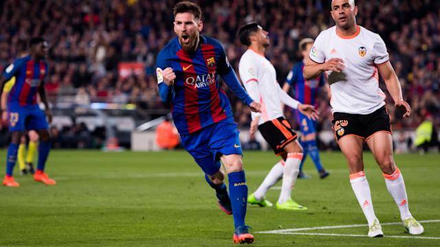 "Lionel Messi's magic has become ""normal"" for Barcelona, but he was lauded by team-mate Gerard Pique."