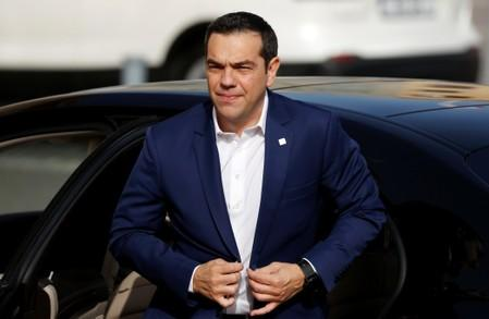 Greek PM says may seek sanctions against Turkey in gas row