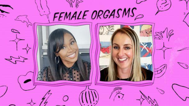 Dr. Nita Landry, a Los Angeles-based OGBYN, and Katharine Smyth, a Brooklyn-based author, discuss the taboo topic of female orgasms. (ABC News Photo Illustration, Alex Gilbeaux)