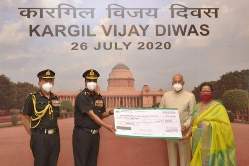 On Kargil Vijay Diwas, President Kovind Donates Rs 20 Lakh to Army Hospital for Purchase of Covid-19 Gear