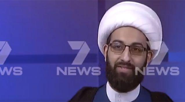 Tawhidi speaks candidly about the situation. Photo: 7 News