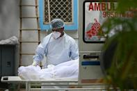 India is battling a surge in coronavirus deaths, with more than 4,000 people dying every day