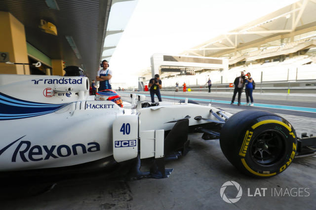 """Test oficial con Williams <span class=""""copyright"""">Zak Mauger / Motorsport Images</span>"""