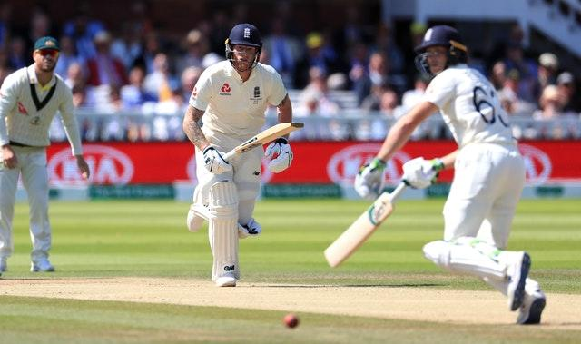 Ben Stokes survived a review for lbw