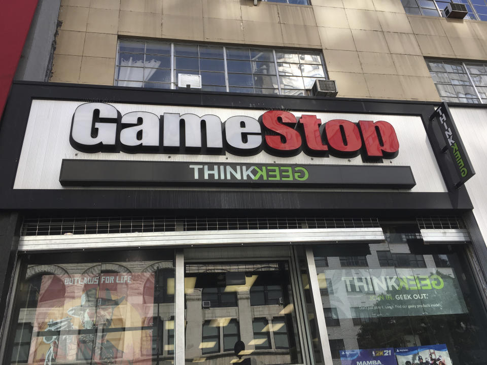 Photo by: STRF/STAR MAX/IPx 2020 12/11/20 GameStop to close over 1,000 stores by the end of its fiscal year in March.