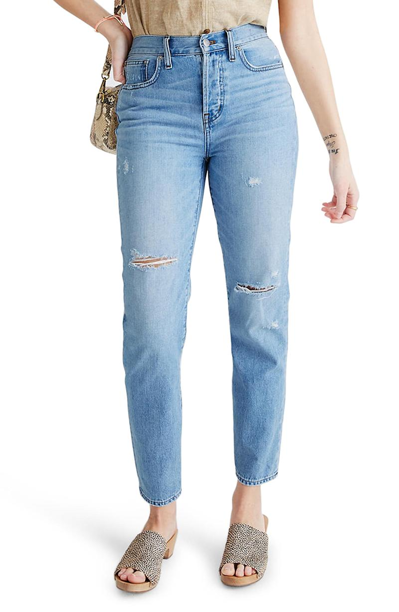 Madewell The Perfect Vintage Jean. Image via Nordstrom.