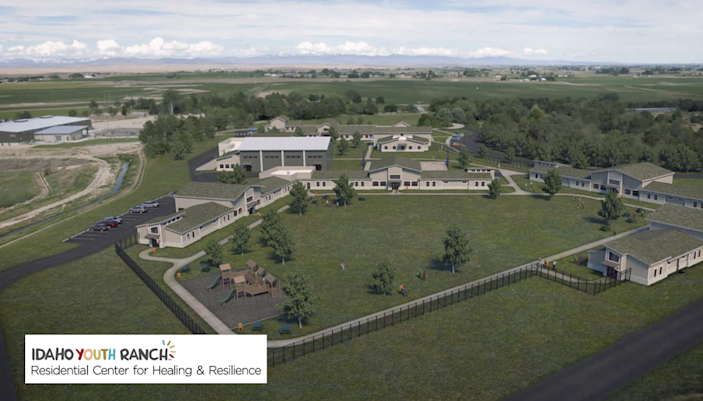 """A rendering of the Idaho Youth Ranch Residential Center for Healing and Resilience. Idaho Youth Ranch CEO said the new center will bring back the """"heart and soul"""" of the organization. The Youth Ranch has been without a residential center for five years."""