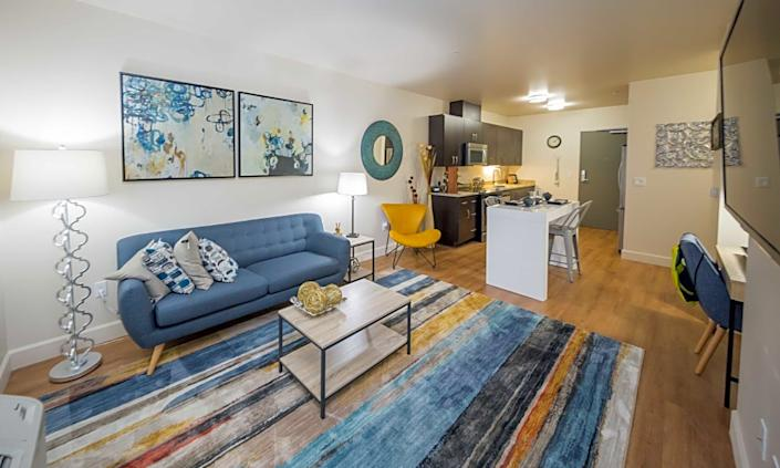 The cheapest apartments for rent in Downtown, Portland