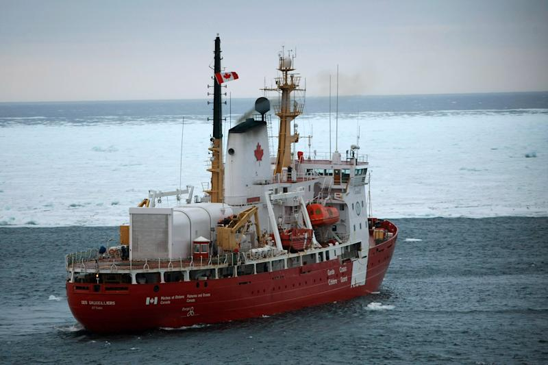 A Canadian Coast Guard ship was recently dipatched to the last reported location of a fuel-laden container ship adrift off of Canada's Pacific coast