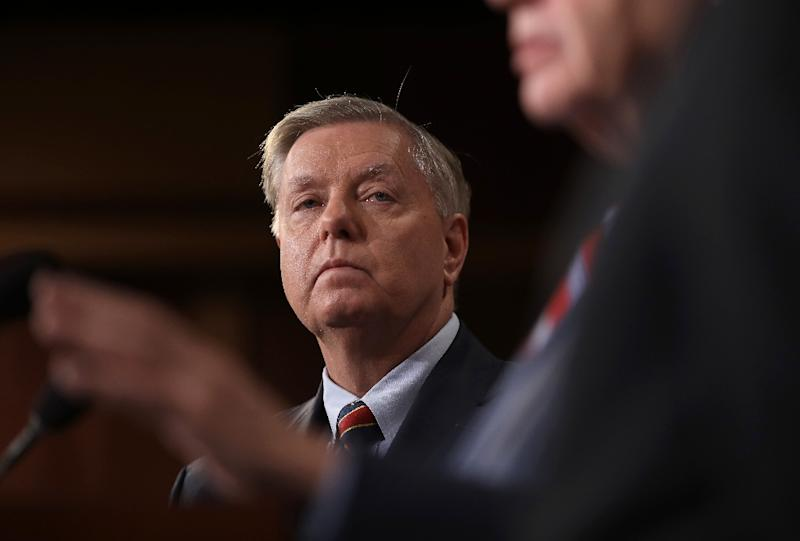 Graham: Trump is in a