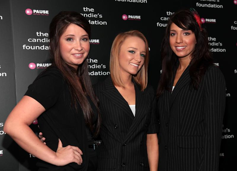 Cast members from Teen Mom