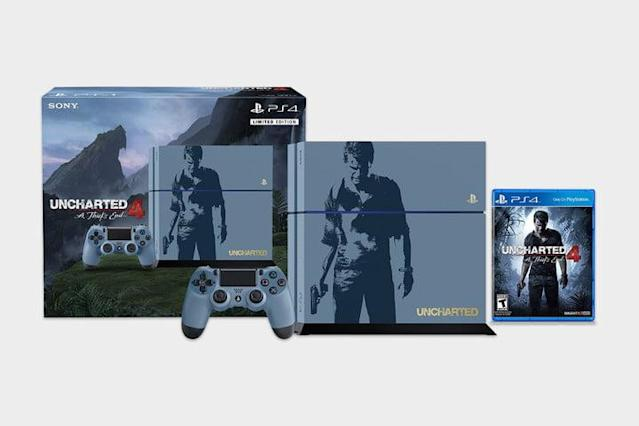PlayStation 4 Bundle - Uncharted 4 Limited Edition