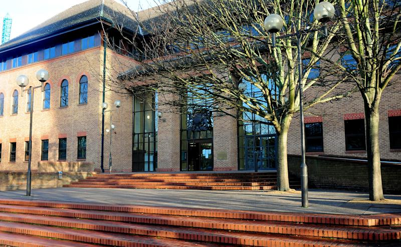 General view of Derby Crown Court, Derby.