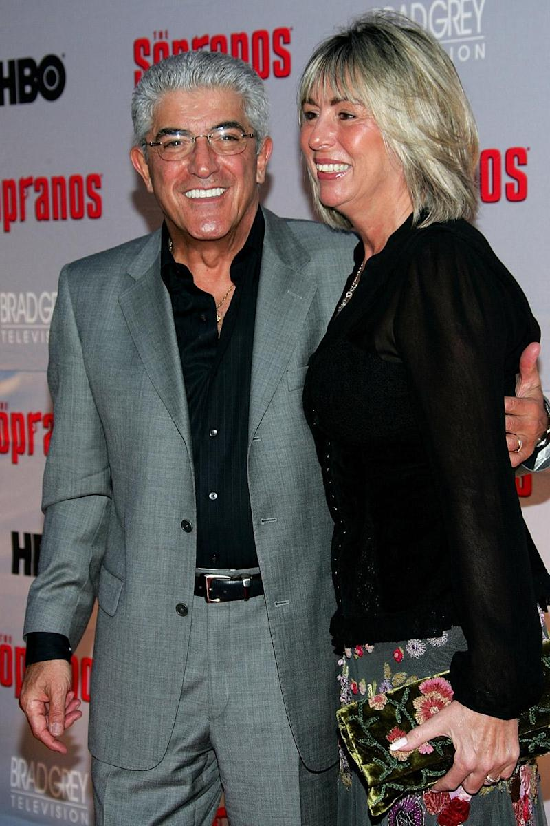 Iconic star: Frank Vincent and his wife Kathleen Vincent in 2007 (Getty Images)