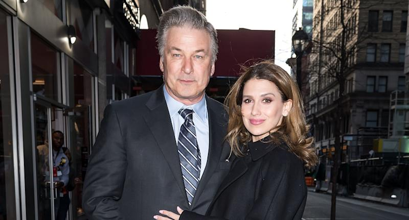 Alec and Hilaria Baldwin. Image via Getty Images.