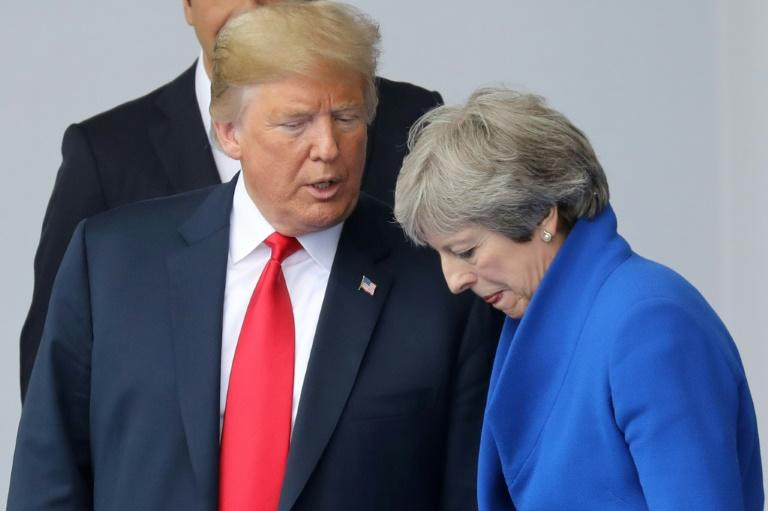 Royaume-Uni : Donald Trump tacle Theresa May sur son projet de Brexit