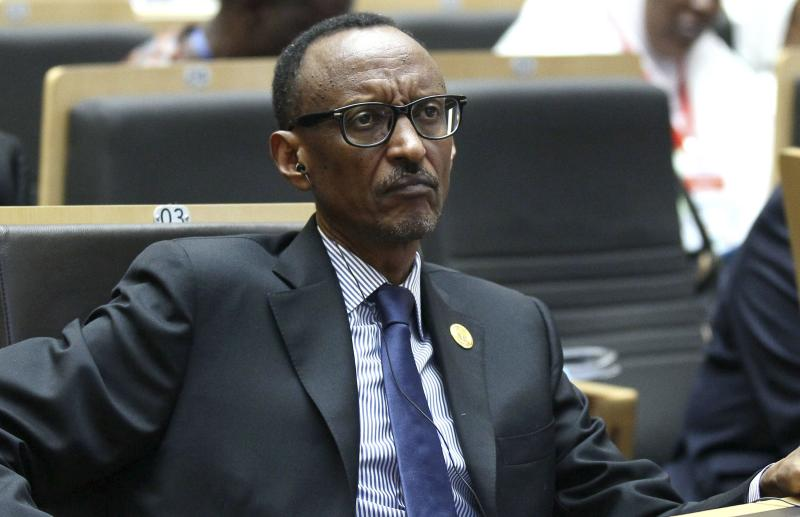 Rwanda's President Paul Kagame attends the opening ceremony of the 24th Ordinary session of the Assembly of Heads of State and Government of the African Union (AU) at the African Union headquarters in Ethiopia's capital Addis Ababa, January 30, 2015. REUTERS/Tiksa Negeri (ETHIOPIA - Tags: POLITICS)