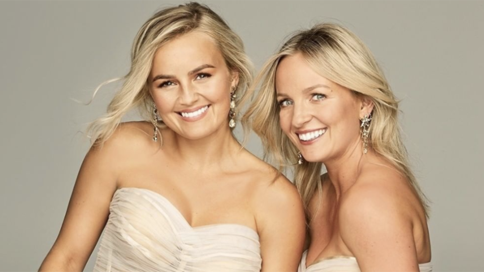 The new Bachelorettes are sisters Elly and Becky Miles. Photo: Channel Ten