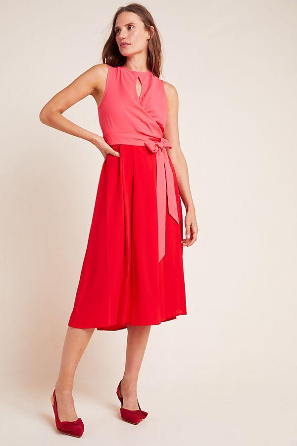 Mare Mare Pietra Colorblocked Midi Dress
